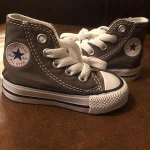 BNWOT Baby Converse High Tops - Size 2